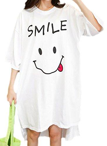 erdbeerloft - Vestido - para mujer Weiß