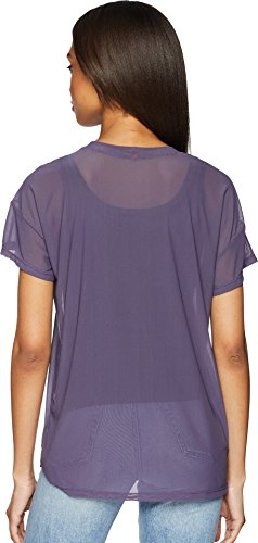 UNIONBAY Women's Fine Mesh Top, Grape Ice, Medium by UNIONBAY (Image #2)