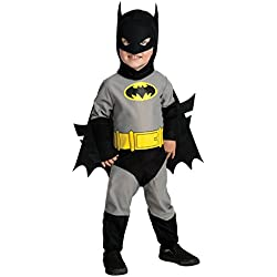 Rubie's Infant Batman Costume,Black,12-24 Months
