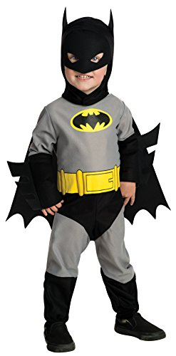 Cute Toddlers Halloween Costumes (Rubie's Infant Batman Costume,Black,12-24)