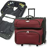 Travel Select Luggage Amsterdam Business Rolling Garment Bag, Black, One Size, Bags Central