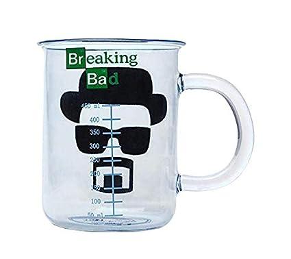 60399a9e6d2 Just Funky Breaking Bad OFFICIAL Heisenberg Beaker PREMIUM Clear ...