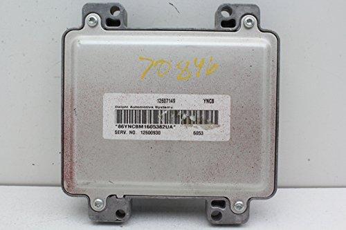 06-09 Buick Lacrosse 12600930 Computer Brain Engine Control ECU ECM EBX Module (Ecu Engine Control Module)