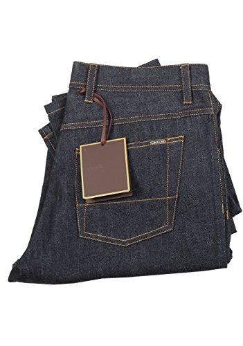 Tom Ford CL Blue Slim Fit Jeans TFD004 Size 50/34 U.S.