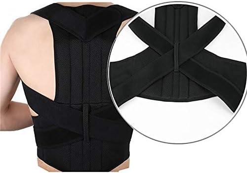 姿勢改善矯正器、治療姿勢肩の支柱の支え、肩の脊椎の支えによる姿勢の改善、成人男性と女性の腰部矯正 (Size : XXL)