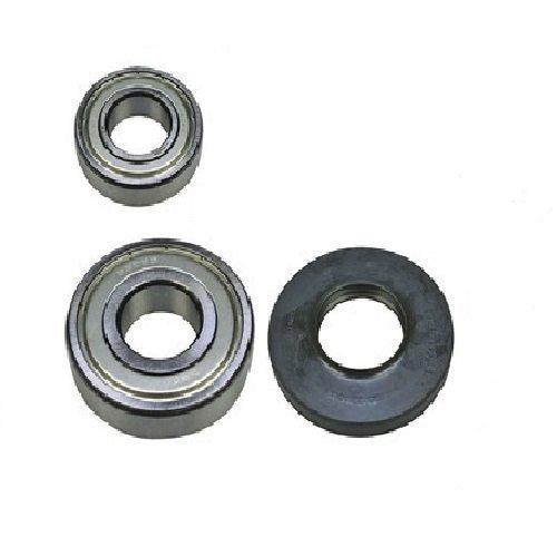 Rodamientos de tambor Juego de almacenamiento Para Bosch Siemens 00172686 172686 que consiste en 6205ZZ / 6306ZZ Sello del eje 35x72x10/12 Europart