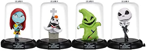 Domez Disney`s Nightmare Before Christmas Collector Set- Includes Jack Skellington Sally Oogie Boogie and Zero