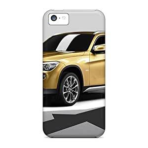 Fashion Tpu Case For Iphone 5c- Bmw X1 Concept 3 Defender Case Cover