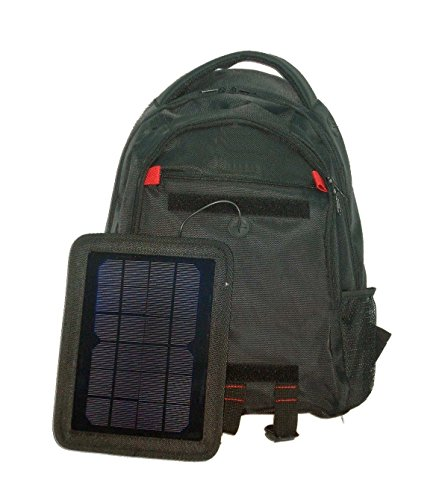 Tiangtech® Solar Backpack with Battery Charging 5000mAh Power Bank that Recharges via the Sun by Tiangtech®