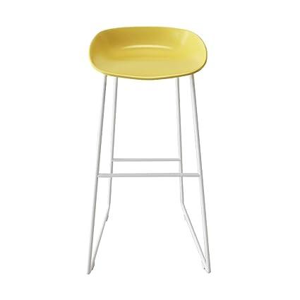 Sedie Da Bar In Plastica.Bzei Chair Moderno Sgabelli Da Bar Poggiapiedi Sedile In Plastica Pp