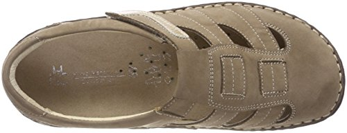 Para Hans Collection taupe Beige Mujer Zuecos Herrmann Hhc xrxOwq1