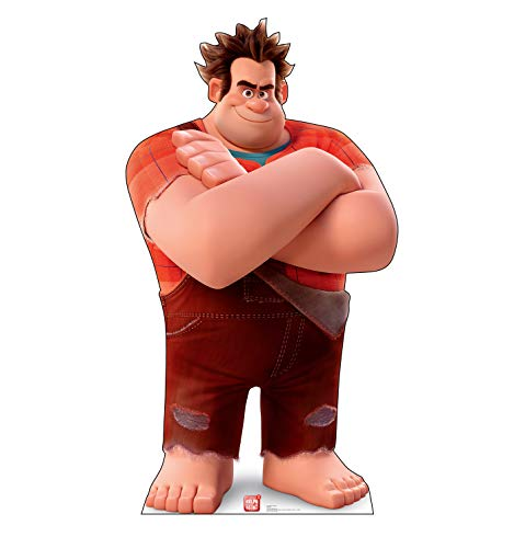 Advanced Graphics Wreck-It Ralph Life Size Cardboard Cutout Standup - Disney's Ralph Breaks The Internet: Wreck-It Ralph 2 (2018 Film)]()