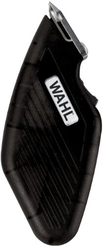 (Wahl 9962-717 Travel Cordless / Battery Trimmer, Black)