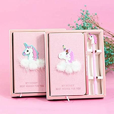 Freedi Hardcover Notebook Set Cute Cartoon Animal Diary Journal As Birthday Present for Students