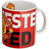 official manchester united fc jumbo ceramic mug large crest