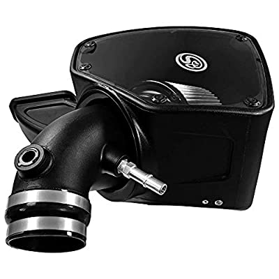 S&B Filters 75-5087D Cold Air Intake for 2014-2020 Dodge Ram 2500/3500 6.4L Hemi (Dry Extendable Filter): Automotive