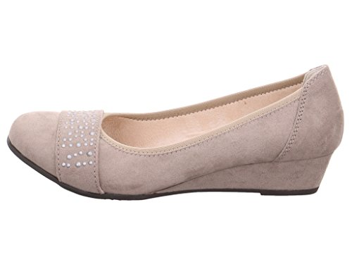 Softline Women's 8-8-22260-28-347 Court Shoes 347LT. TAUPE oAqNR03