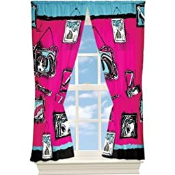 Monster High Window Drapes