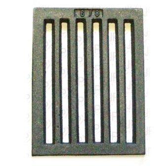 Rejilla Para Panel - Rejilla Horno hierro Fundido Estufa 158x209mm