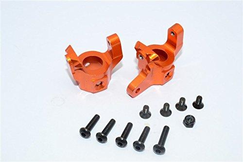 (Vaterra K5 Blazer Ascender Upgrade Parts Aluminum C-Hub - 1Pr Set Orange)