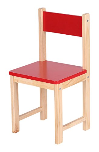 IKAYAA Wooden Kids Chair Stacking School Chair Furniture 6 Colors Available Red  sc 1 st  Amazon.com & Amazon.com: IKAYAA Wooden Kids Chair Stacking School Chair Furniture ...