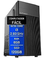 Computador Fácil Intel Core I5 3.20Ghz 8GB DDR3 SSD 120GB
