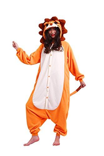 Pigiami Animali Magicmode Cartoon Leone Onesie Costumi Unisex Cosplay Kigurumi Insetti Pigiameria Felpa Adulti affwtvqrx