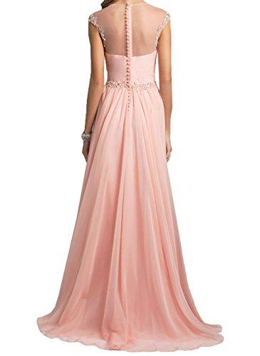 Formalkleider Steine Damen Lang Gelb Partykleider Abendkleider Rosa ...