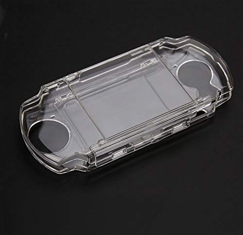 (New Hard Clear Crystal Case Cover Shell Protector Protective Shell for Sony PSP 2000 3000 Game Console)