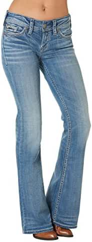Silver Jeans Co. Suki Mid Flare Light Wash