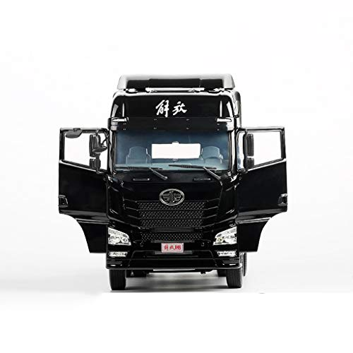 LIUFS-Alloy Car Children's Toy Liberation JH6 Traction Project Truck Static Simulation Alloy Car Model ( Color : Black ) by LIUFS-Alloy Car (Image #6)