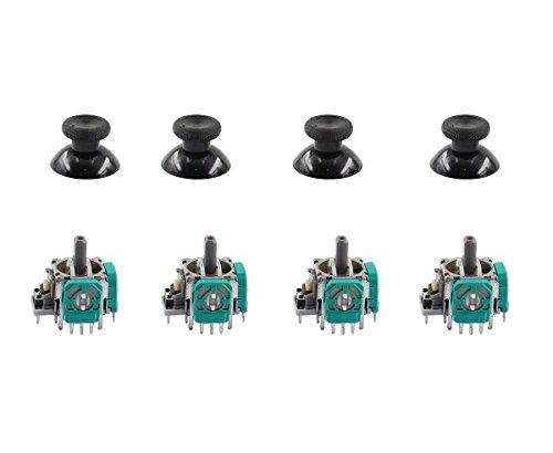 XA 4 Pcs 3D Controller Joystick Axis Analog Sensor Module & Thumbstick for Xbox One