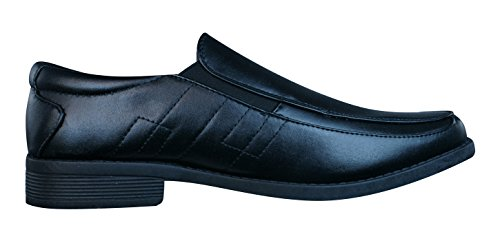 Brickers 2185 Heren Slip-on Schoenen / Loafers Zwart