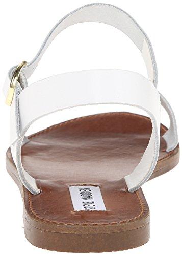 Donddi Leather Steve White Madden Women's Sandal awrqxErX