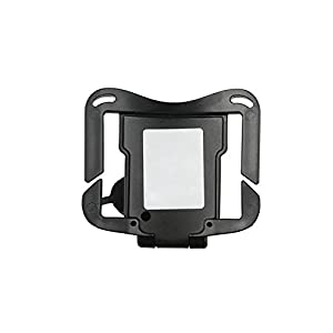 Goliton DSLR Camera Hard Plastic waist belt buckle button, camera hanger Belt Clip Holster Holder fast loading rig for Canon 5d2 nikon d7000 etc -Black