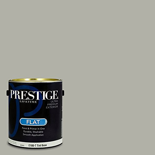 - Prestige Paints Exterior Paint and Primer In One, 1-Gallon, Flat,  Comparable Match of Benjamin Moore Fieldstone