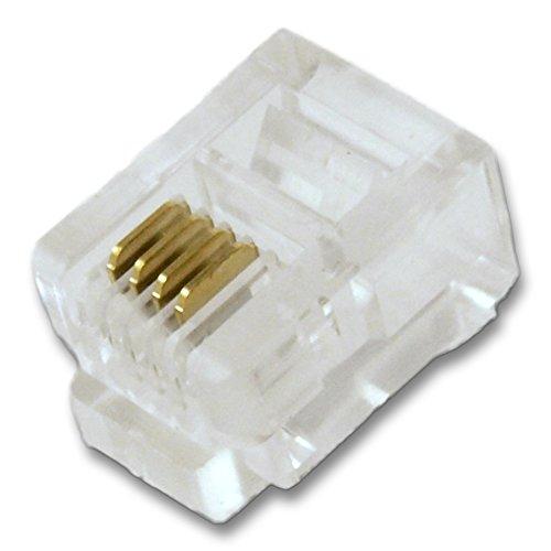 Two 6p4c Plug - 2