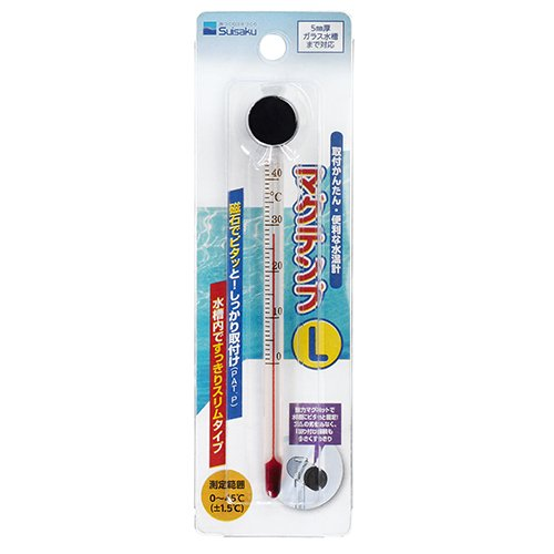 Suisaku Magnetic Glass Thermometer L (L) ()