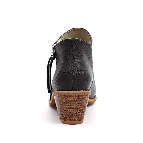 a caviglia 5 stivaletto nbsp; Dimensioni e stivali heeled 4 donna da nbsp;autunno da low donna festival Toramo e popolari invernali inverno 2018 qfSwx6z