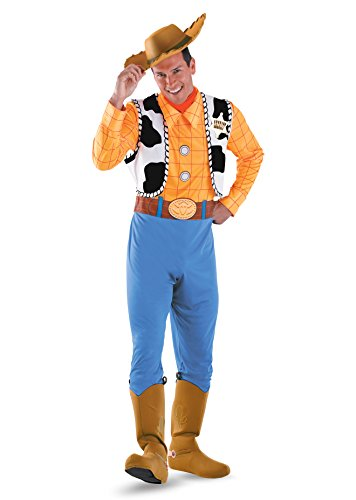50550XL 42-46 Deluxe Woody Costume Adult (Woody Costumes Adults)
