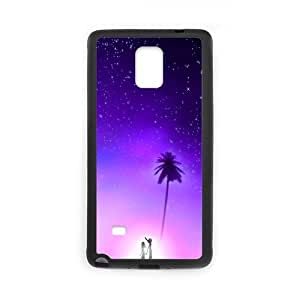 Lovers on the Island Samsung Galaxy Note 4 Cases, [Black]