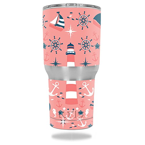 MightySkins Protective Tumbler sticker Nautical product image