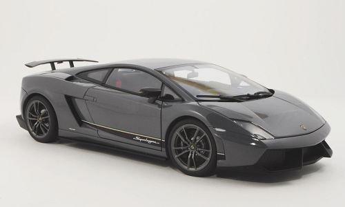 Lamborghini Gallardo LP570-4 Superleggera, met.-grau , 2010, Modellauto, Fertigmodell, AUTOart 1:18