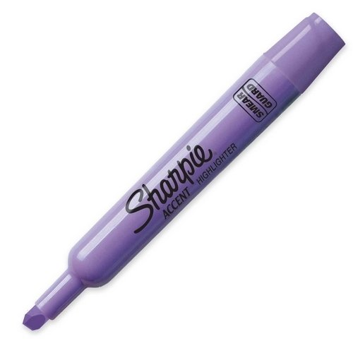 Corporation Major Accent - Sanford Ink Corporation Major Accent Highlighter, Chisel Point, Lavender; 12 Total