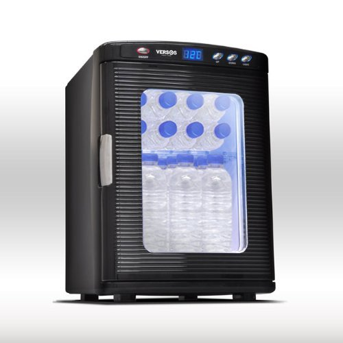 VERSOS 25L冷温庫 ブラック VS-404 B00ADEHRL8 ブラック ブラック