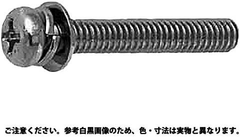 (+)鍋P=4(100入り 表面処理(三価ホワイト(白)) 規格(5X15) 入数(100)