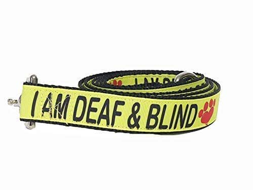 Amazon Com I Am Deaf Amp Blind Dog Leash Blind Dog Deaf