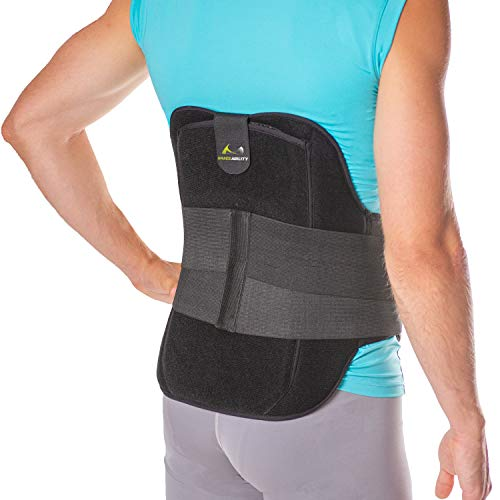 BraceAbility LSO Back Brace for Herniated, Degenerative &