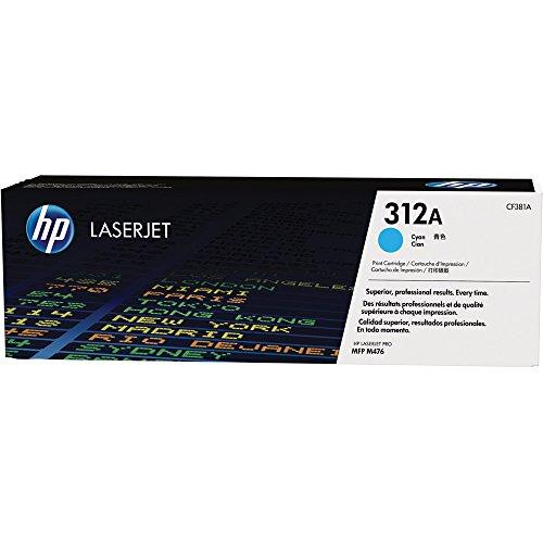 Toner Laserjet Color HP Suprimentos CF381AB HP 312A Ciano M476NW / M476DW