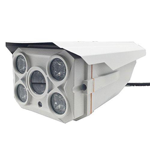 Waterproof Metal Analog HD 1200TVL 16MM Lens CCTV indoor Outdoor Bullet Security Surveillance Camera BNC Cable NTSC Day Night (16 Auto Iris Lens)